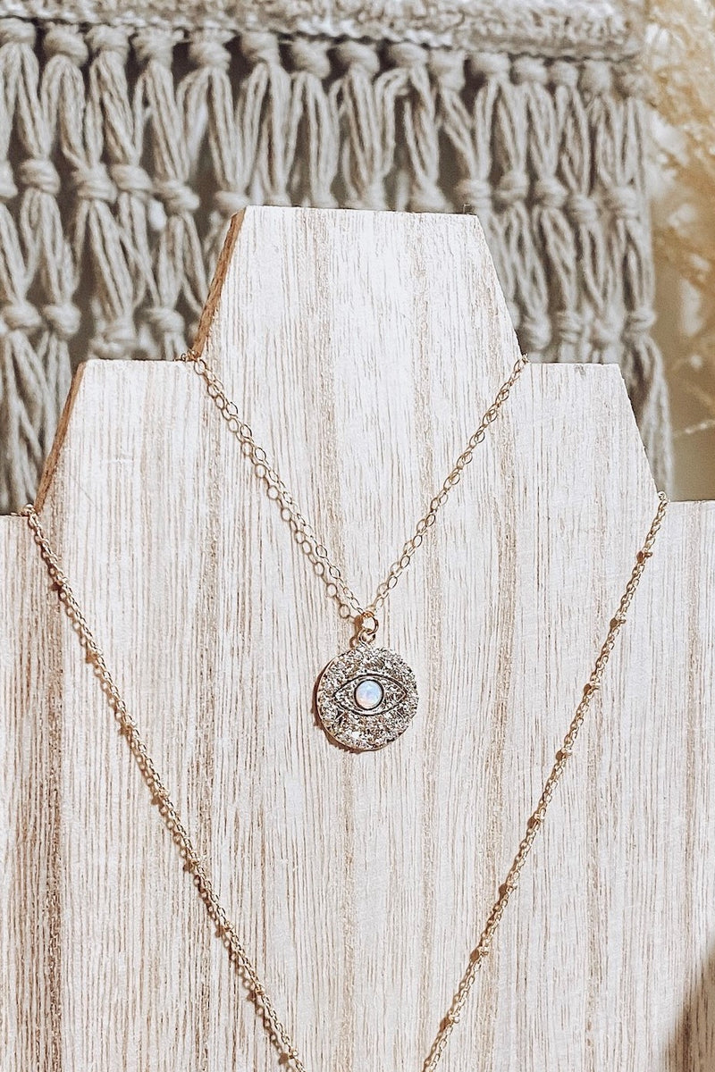 Sparkle In Your Eye Necklace