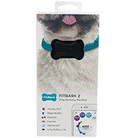 FitBark 2 Dog Activity Monitor, Black