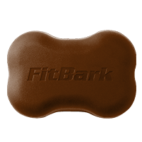 FitBark 2 Cover, Peanut Butter Monster Brown