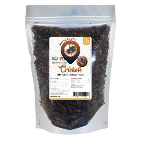 Supergrubs Dried Crickets - 100g / 400g