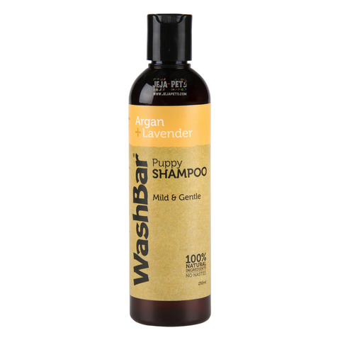 WashBar Natural Shampoo (Argan + Lavender) for Puppy  - 250ml