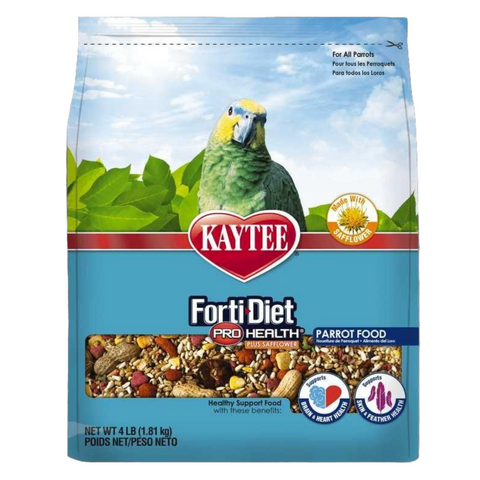 Kaytee Forti-Diet Pro Health with Safflower Parrot Food - 1.81kg