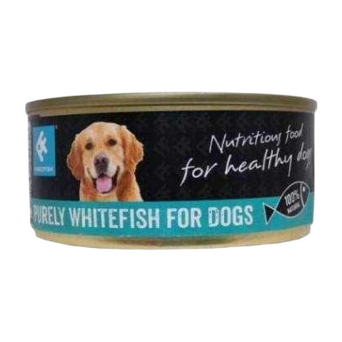 PurelyFish Purely (Whitefish) for Dogs 160g Can