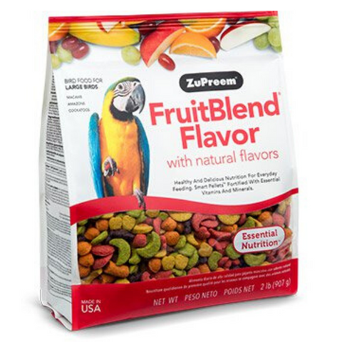 ZuPreem FruitBlend Flavour with Natural Flavors - Large Birds - 1.59kg
