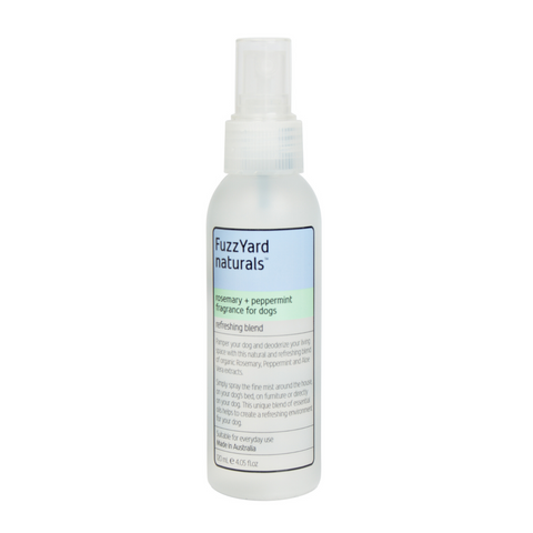 FuzzYard Refreshing Spray (Rosemary + Peppermint) - 120ml