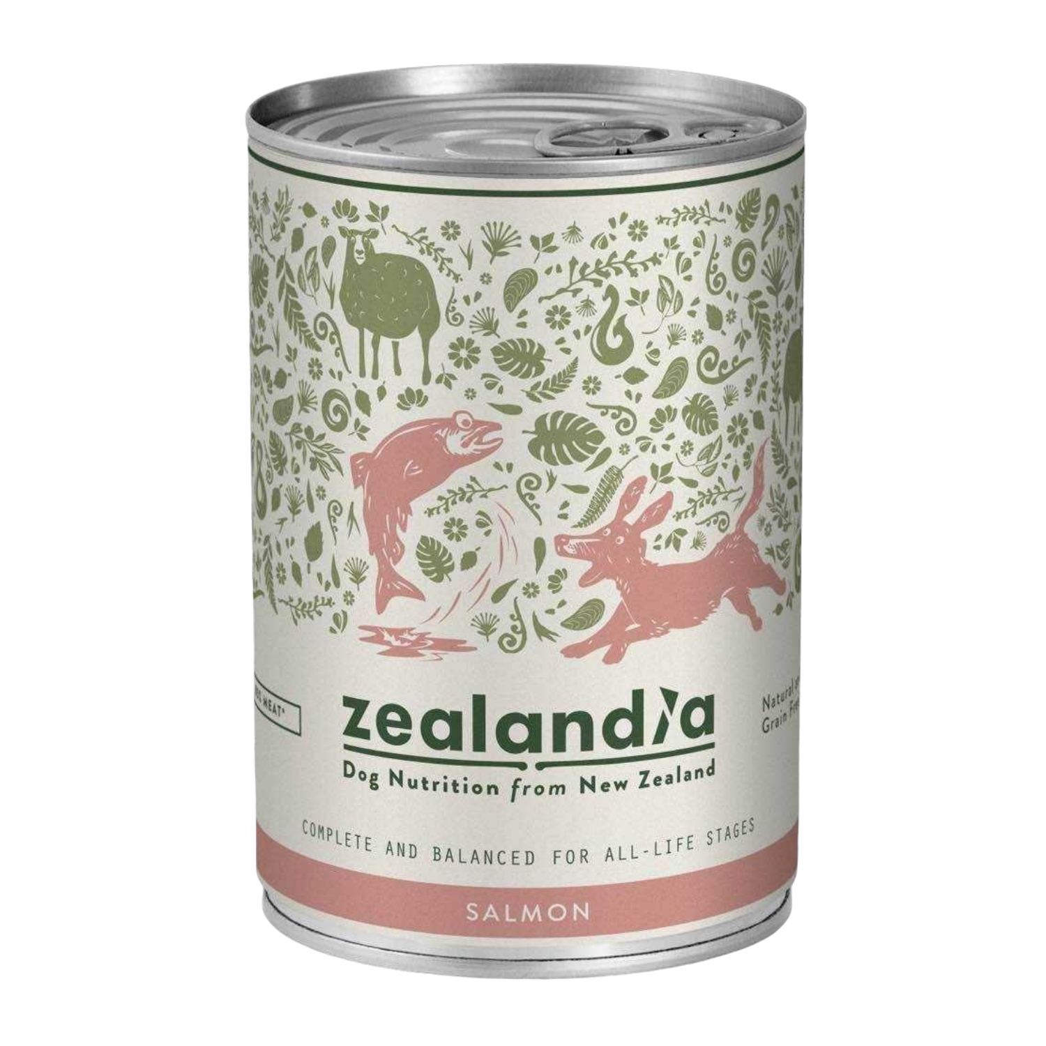 Zealandia (King Salmon) for Dogs - 385g Can