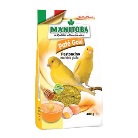 Manitoba Pate Gold Egg Food - 400g