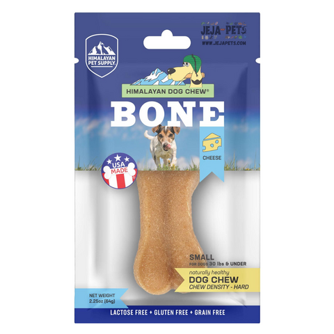 Himalayan Pet Supply Cheese Bone Hard Density Dog Chew - S / M / L
