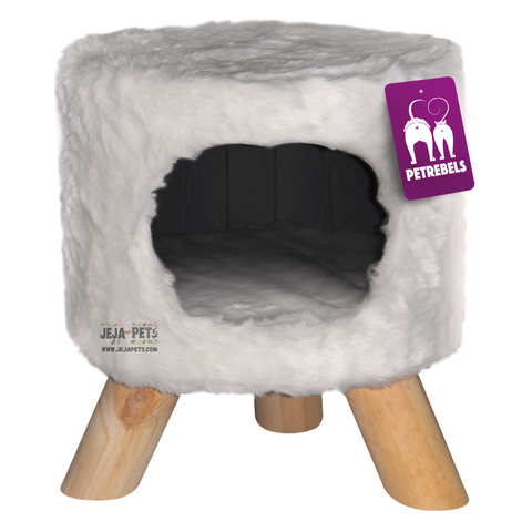 Petrebels Kings & Queens Victoria 45 Cat House - Royal Cream / Royal Grey / Royal Brown