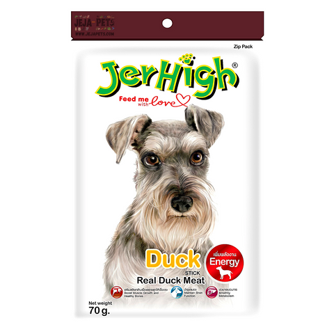 JerHigh Duck Stick with Real Duck Meat Dog Snack - 70g