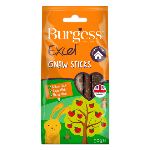 Burgess Excel Snacks Gnaw Sticks - 14 pcs