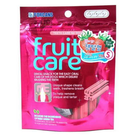 [DISCONTINUED] Forcans Fruit Care Strawberry - S / M (70g)