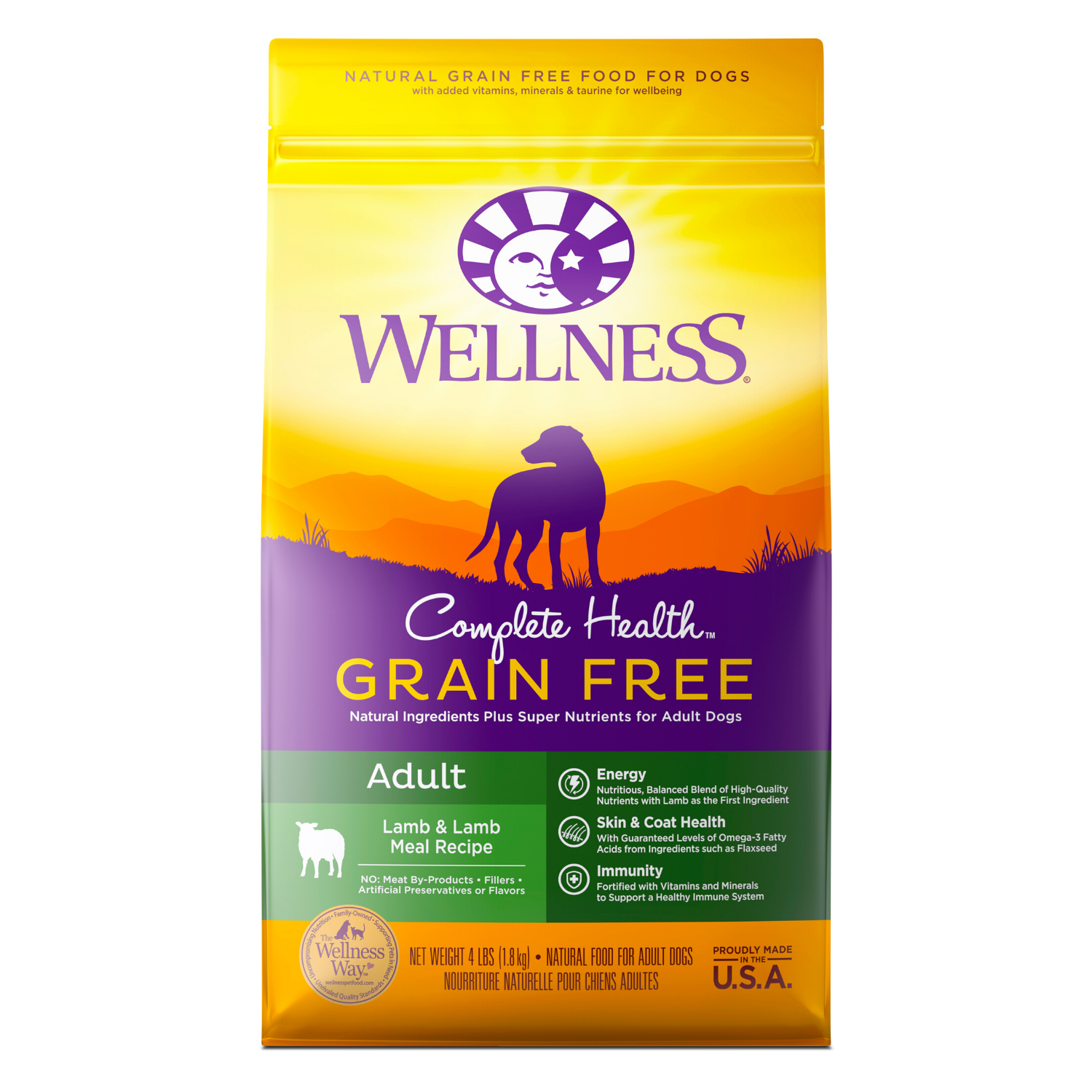 Wellness Complete Health Grain Free for Adult - (Lamb and Lamb Meal) - 1.81kg / 5.44kg / 10.89kg