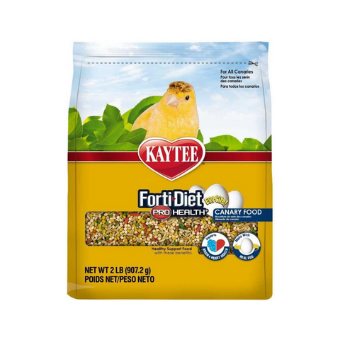 Kaytee Forti-Diet Pro Health Egg-Cite! Canary Food - 907g