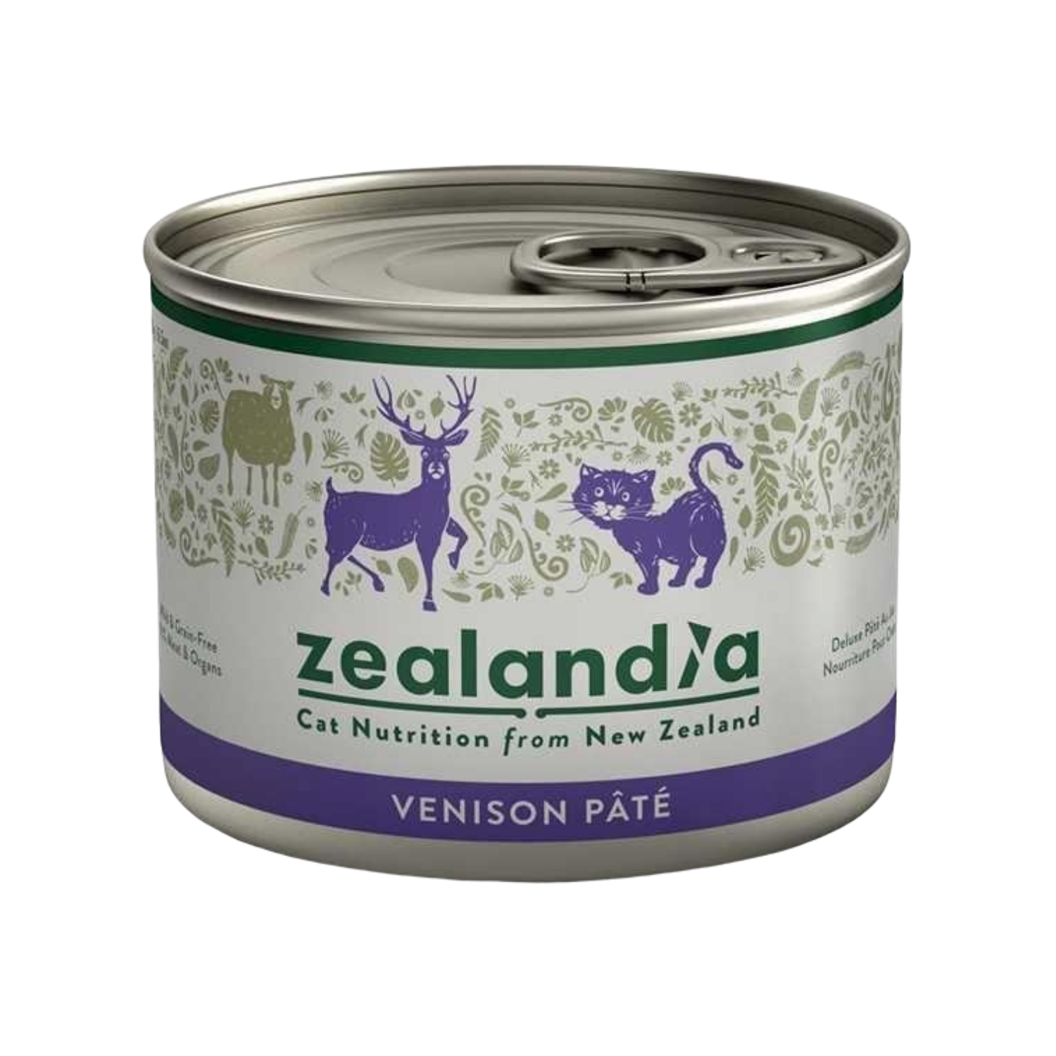 Zealandia (Wild Venison) for Cats - 185g Can
