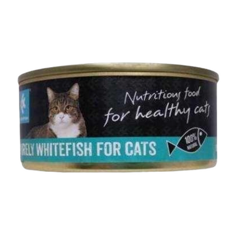 PurelyFish Purely (Whitefish) for Cats 160g Can