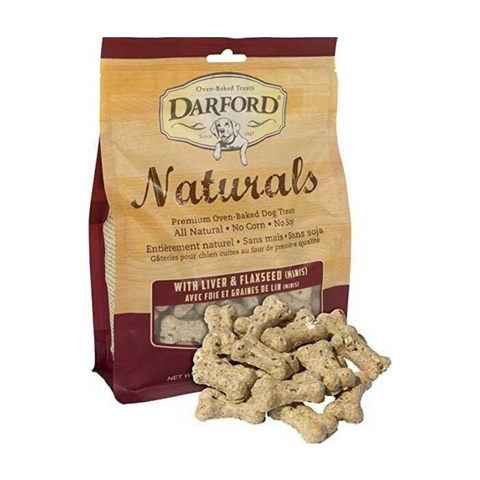 Darford Naturals (Liver & Flaxseed Minis) for Dogs - 170g / 400g
