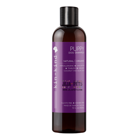 Kin+Kind Natural Organic Puppy Dog Shampoo - 354ml