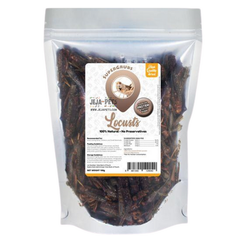 Supergrubs Dried Locusts - 100g / 400g
