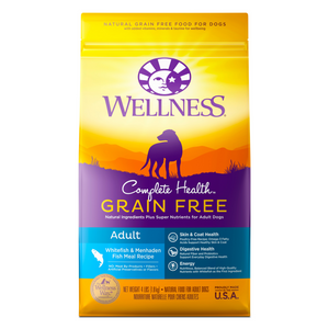 Wellness Complete Health Grain Free for Adult - (Whitefish and Menhaden Fish Meal) - 1.81kg / 10.89kg