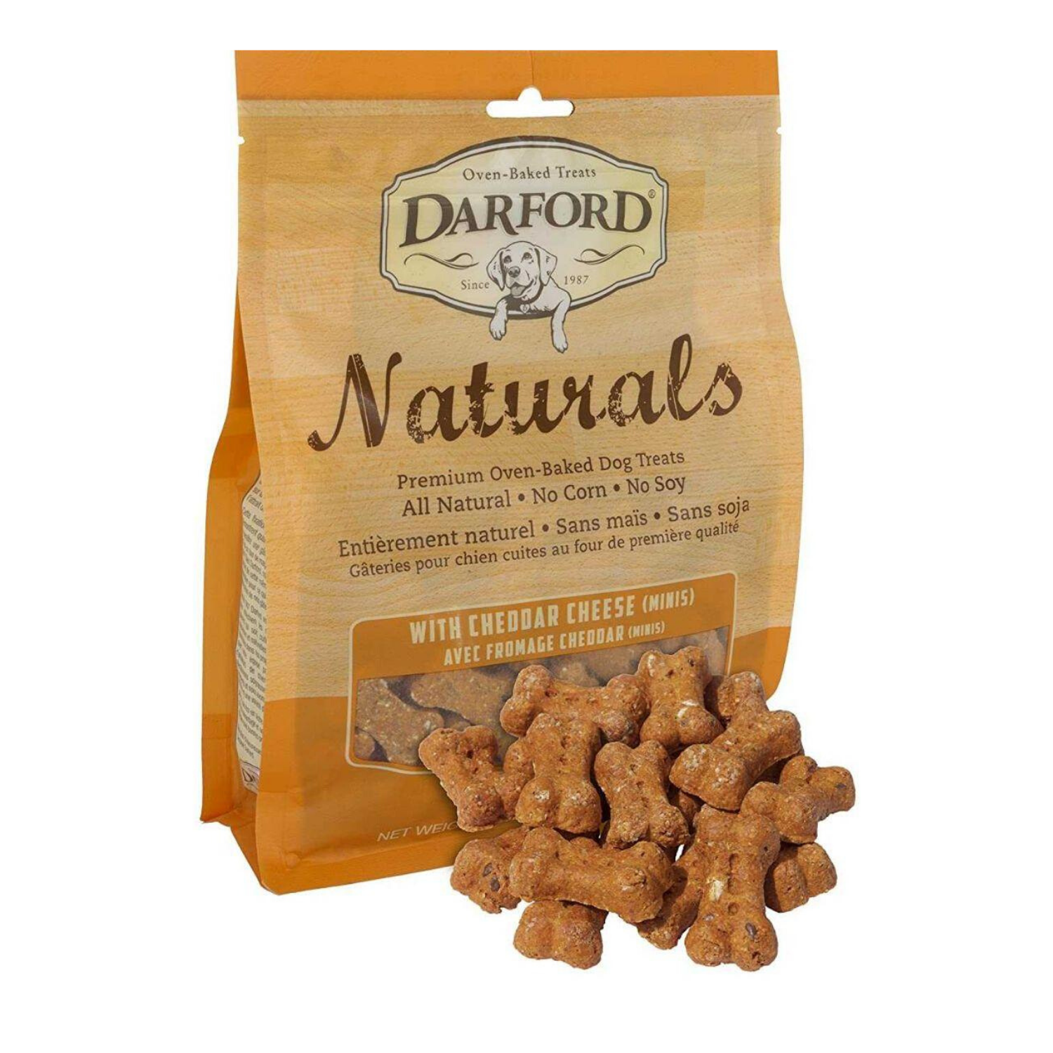 Darford Naturals (Cheddar) Minis for Dogs - 170g / 400g