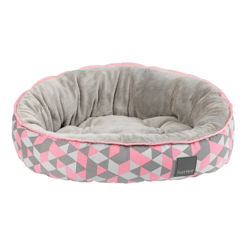 [LAUNCH PROMO] Fuzzyard Reversible Bed (Morganite) - S / M / L