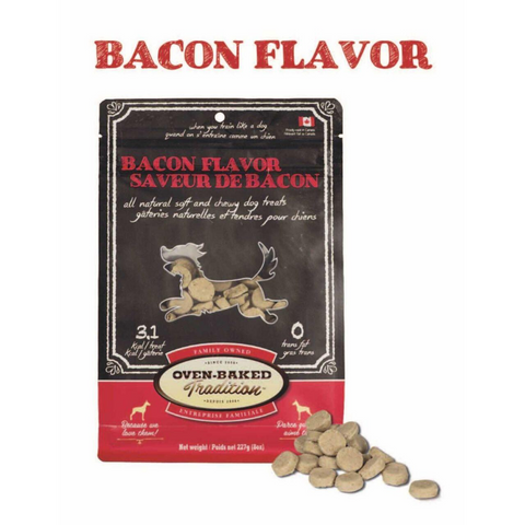 Oven-Baked Tradition Dog Treat (Bacon) - 227g