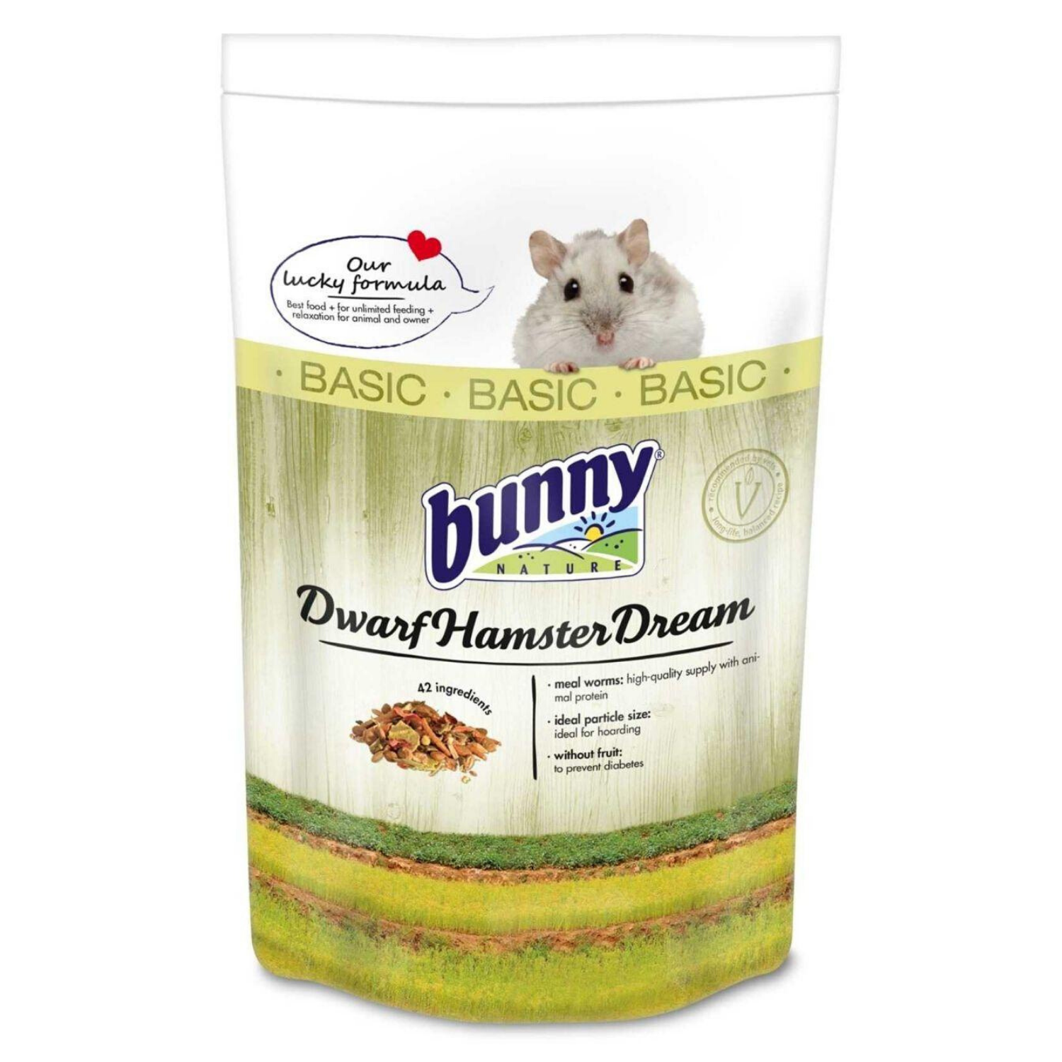 Bunny Nature Dwarf Hamster Dream Basic - 600g