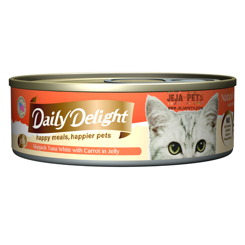 Daily Delight Skipjack Tuna White with Carrot in Jelly - 80g