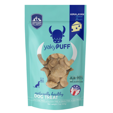 Himalayan Pet Supply yakyPUFF Cheese Dog Treats - 57g