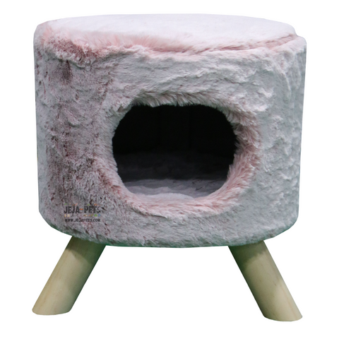 Petrebels Kings & Queens Victoria 45 De Luxe Cat House - Ice Pink