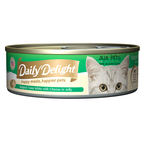 Daily Delight Skipjack Tuna White with Cheese in Jelly - 80g
