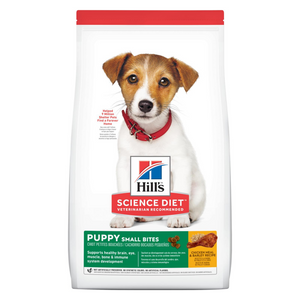 Hill's Science Diet Puppy Small Bites - Chicken & Barley - 2.04kg / 12kg