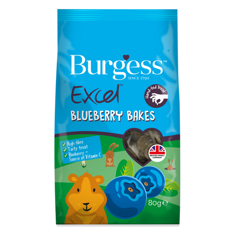 Burgess Excel (Blueberry) Bakes - 80g