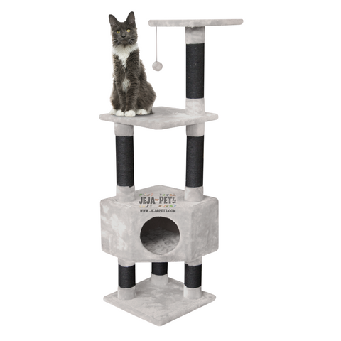 Petrebels Kings & Queens Elizabeth 135 Cat Tree - Royal Cream