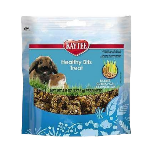 Kaytee Healthy Bits Treat for Rabbits and Guinea Pig - 128g
