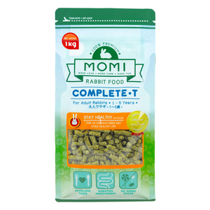 Momi Complete T Pellets for Adult Rabbits - 1kg