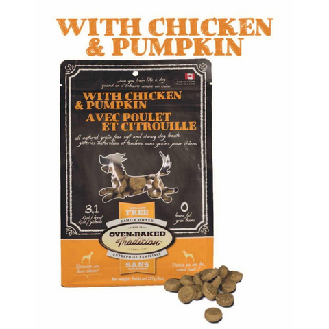 Oven-Baked Tradition Dog Treats (Chicken & Pumpkin) - 227g