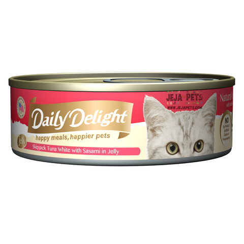 Daily Delight Skipjack Tuna White with Sasami in Jelly - 80g