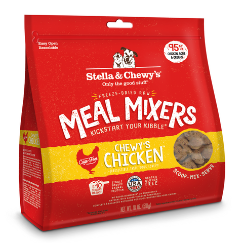Stella & Chewy's Meal Mixers (Chewy's Chicken) - 227g / 510g