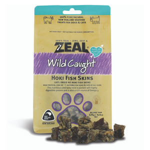 Zeal Wild Caught Naturals Hoki Fish Skins - 125g (BUY 2 GET 1 FREE)