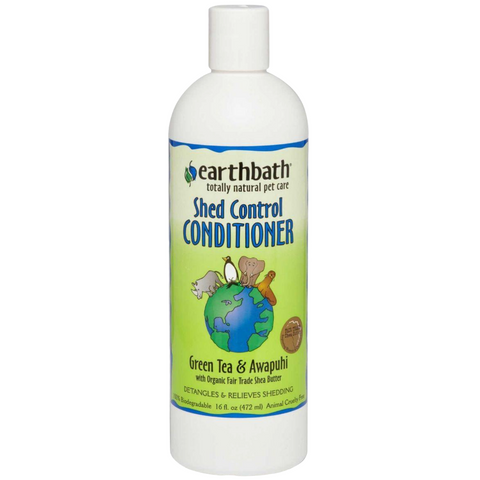 Earthbath Shed Control Conditioner (Green Tea & Awapuhi)