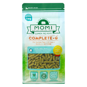 Momi Complete G Pellets for Guinea Pigs - 1kg