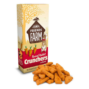 Supreme Tiny Farm Friends Treat Russel Rabbit Crunchers with Carrot - 120g