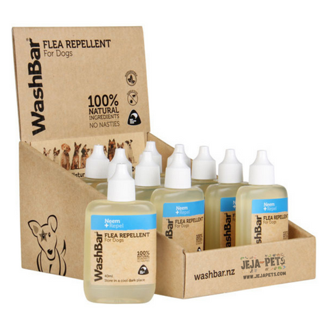 WashBar 100% Natural Flea Repellent - 40ml