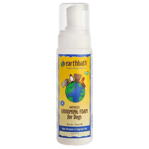 Earthbath Hypo-Allergenic Grooming Foam for Dogs (Fragrance Free)