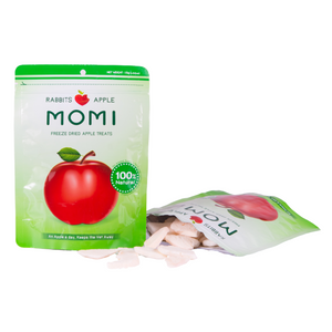 Momi Dried Apple Treats - 15g