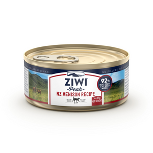 ZIWI Peak (Venison) Canned Cat Food - 12 Cans x 85g / 185g
