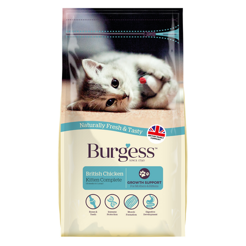 Burgess Kitten (Chicken) - 1.5kg