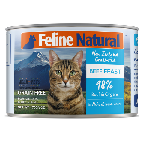 Feline Natural Beef Feast Can - 85g / 170g